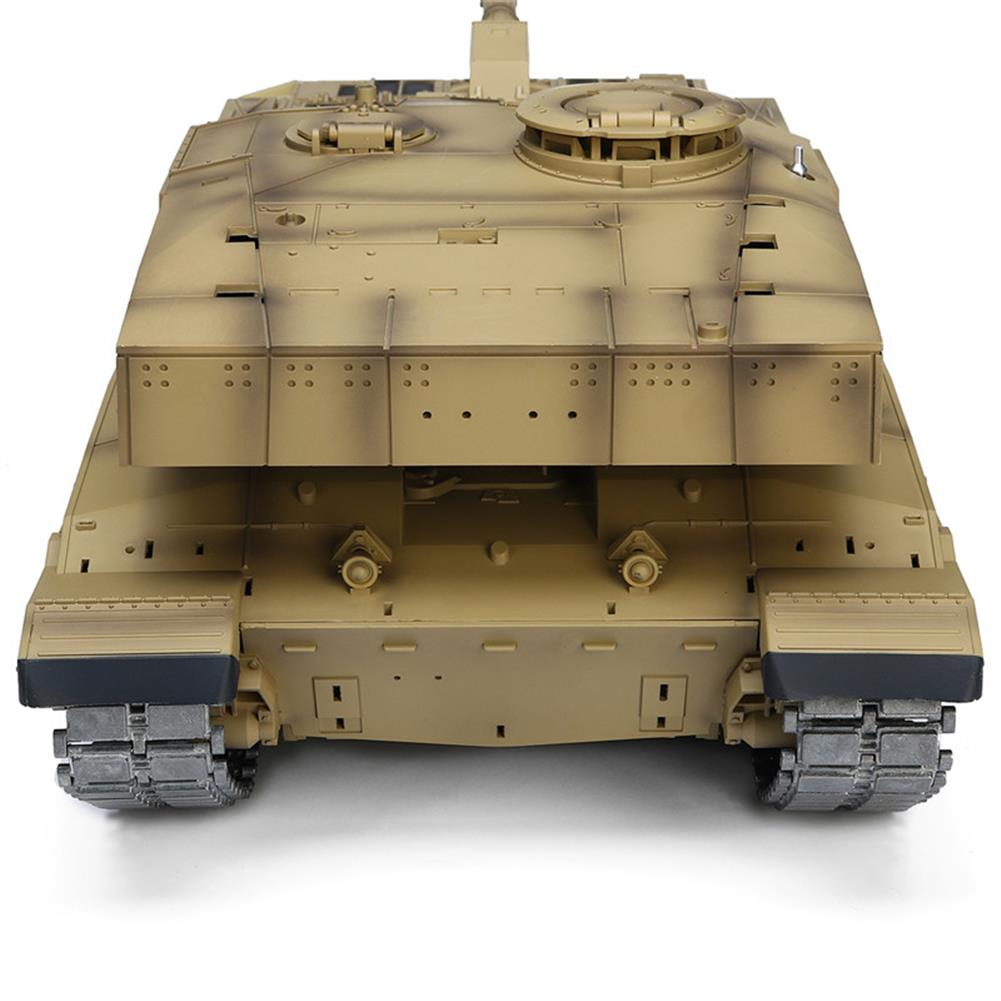 rc-tank Henglong 3908-1 1/16 2.4G Smoking British Challenger 2II RC Car Battle Tank  Metal Gearbox Toys RC1270116 7
