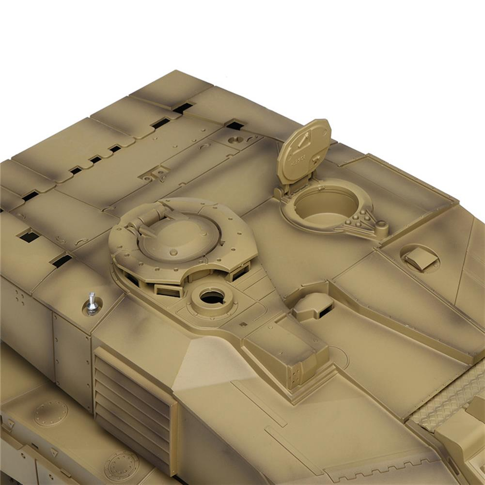rc-tank Henglong 3908-1 1/16 2.4G Smoking British Challenger 2II RC Car Battle Tank  Metal Gearbox Toys RC1270116 8