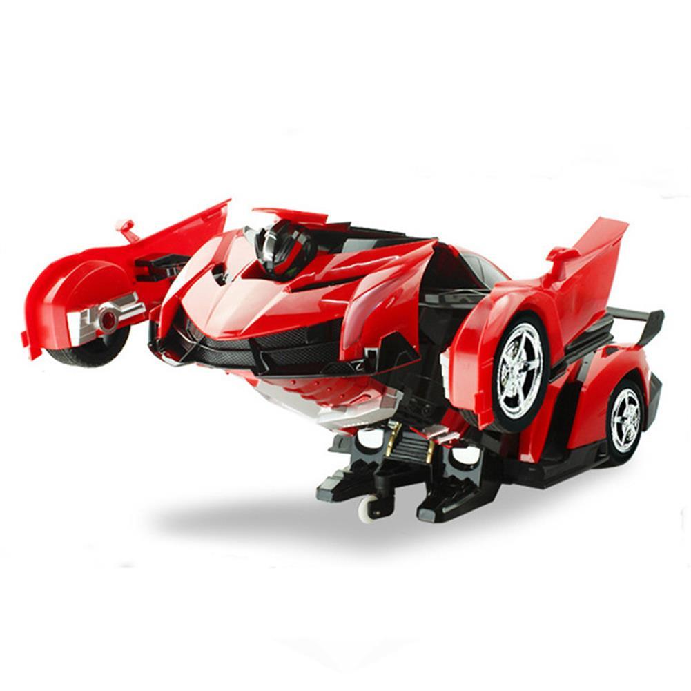 rc-cars Rastar 1/18 2 In 1 RC Car Wireless Sports Transformation Robot Model Deformation Truck Fighting Toy RC1271973 3