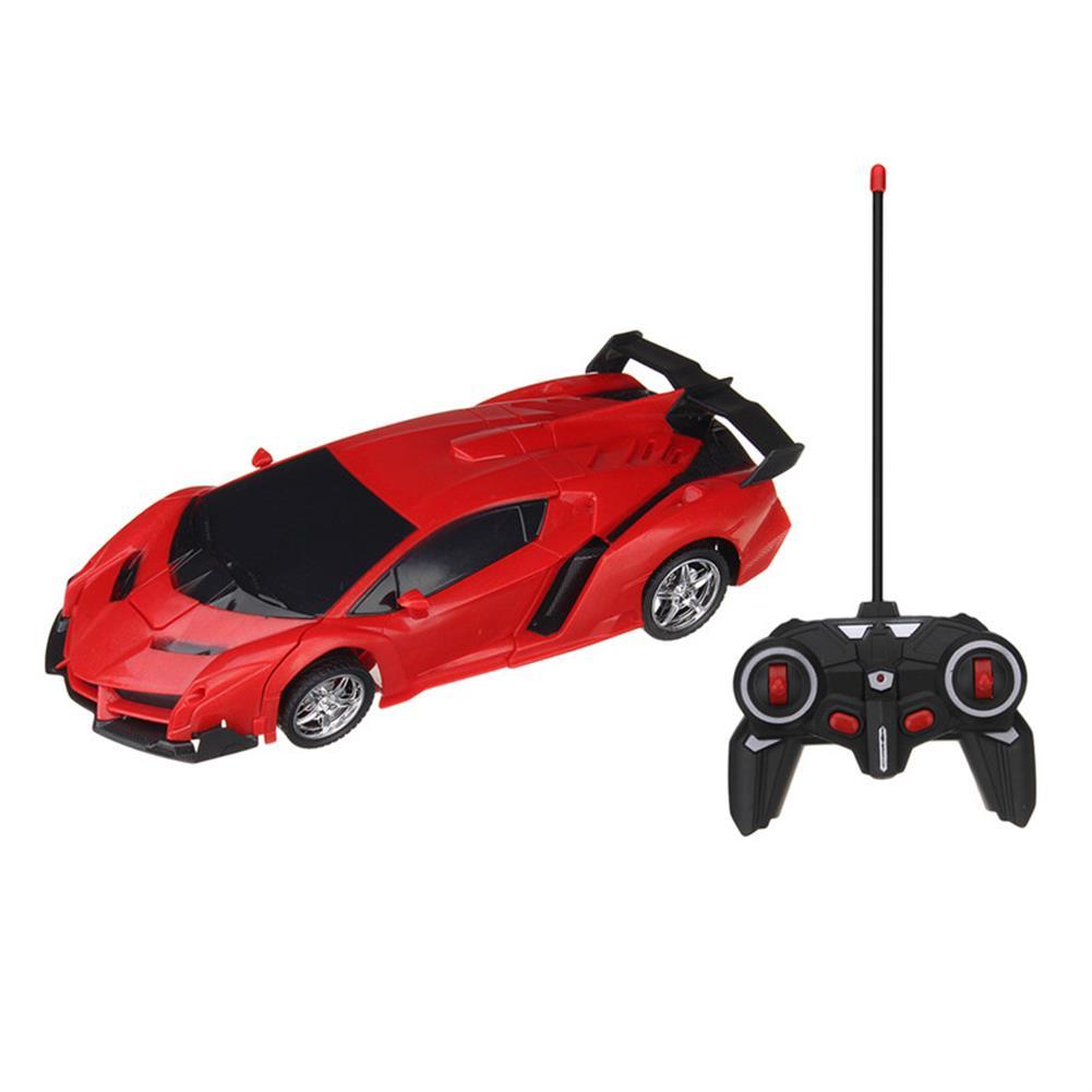 rc-cars Rastar 1/18 2 In 1 RC Car Wireless Sports Transformation Robot Model Deformation Truck Fighting Toy RC1271973 4