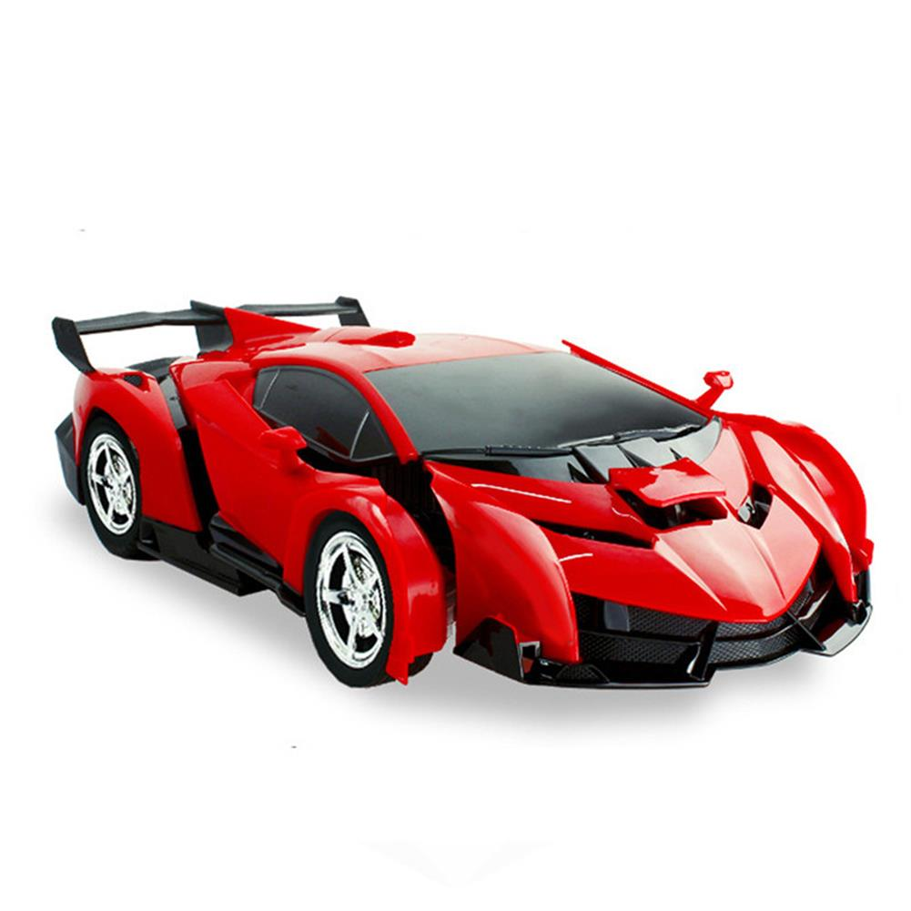 rc-cars Rastar 1/18 2 In 1 RC Car Wireless Sports Transformation Robot Model Deformation Truck Fighting Toy RC1271973 6