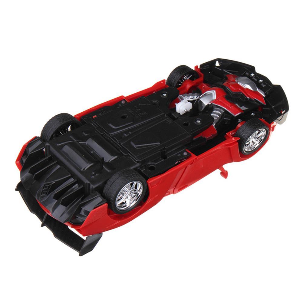 rc-cars Rastar 1/18 2 In 1 RC Car Wireless Sports Transformation Robot Model Deformation Truck Fighting Toy RC1271973 7