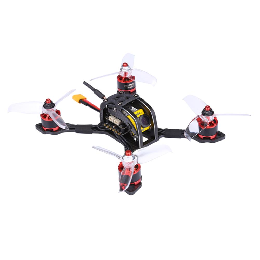 fpv-racing-drones TransTEC Lightning Mini 142mm FPV Racing RC Drone With F3 20A BLHeli_S ESC Caddx Micro Camera PNP RC1273960