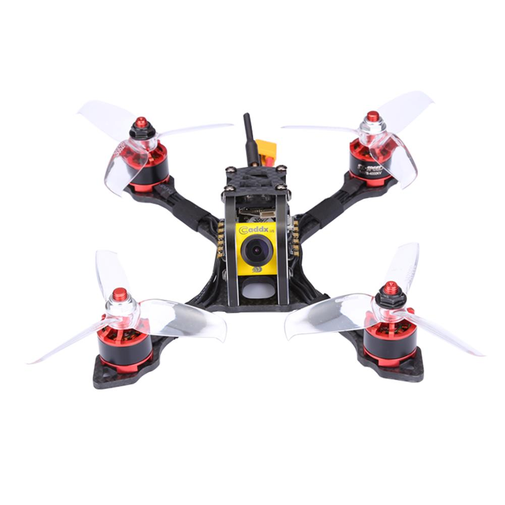 fpv-racing-drones TransTEC Lightning Mini 142mm FPV Racing RC Drone With F3 20A BLHeli_S ESC Caddx Micro Camera PNP RC1273960 1