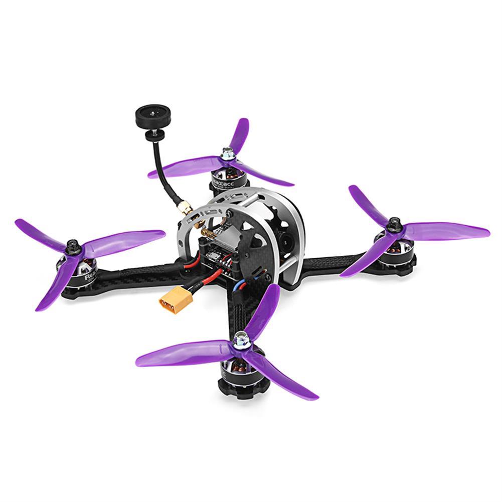 fpv-racing-drones Realacc Real5 215MM FPV Racing Drone PNP Omnibus F4 30A Blheli_S ESC 25/200/600mW VTX 800TVL Camera RC1279364