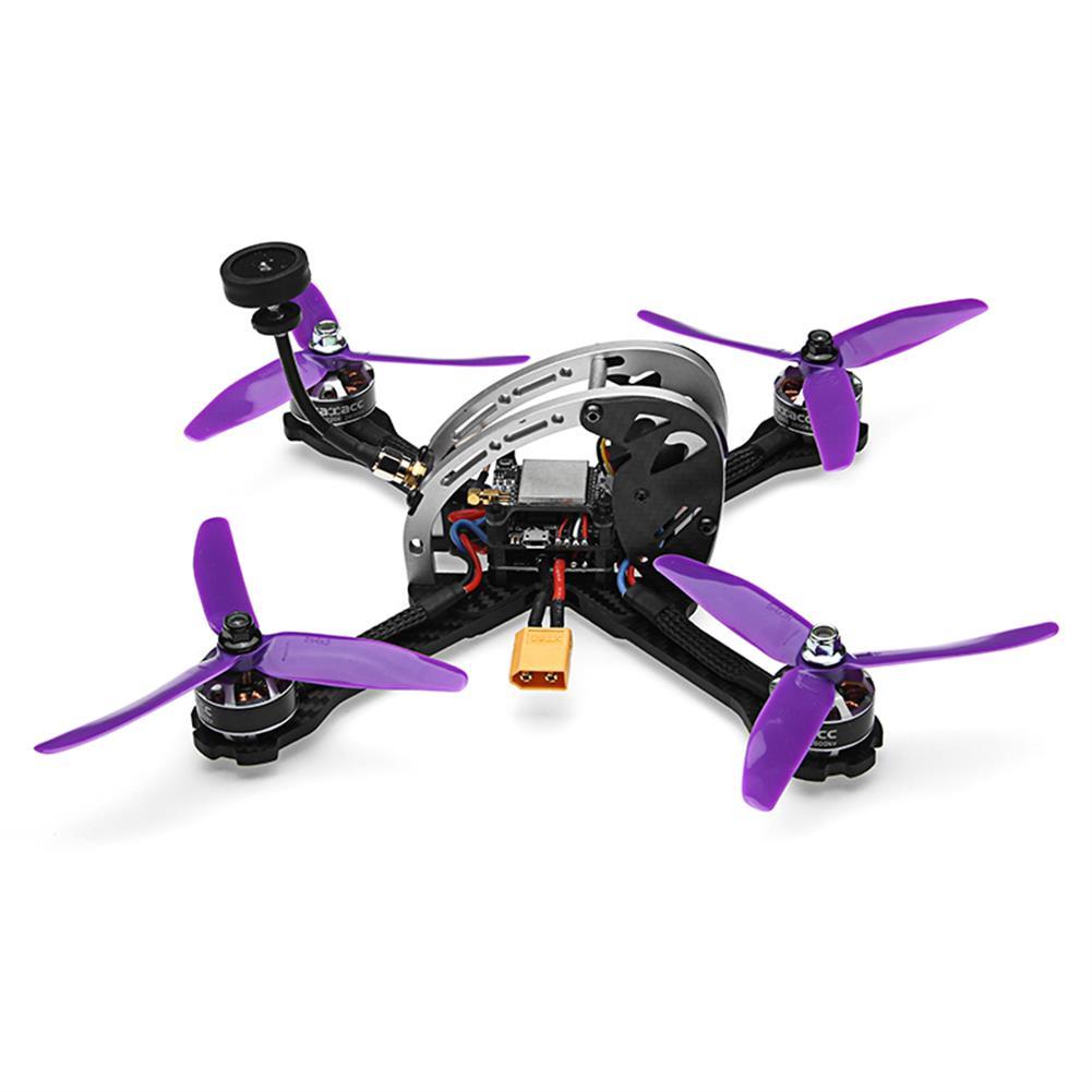fpv-racing-drones Realacc Real5 215MM FPV Racing Drone PNP Omnibus F4 30A Blheli_S ESC 25/200/600mW VTX 800TVL Camera RC1279364 3