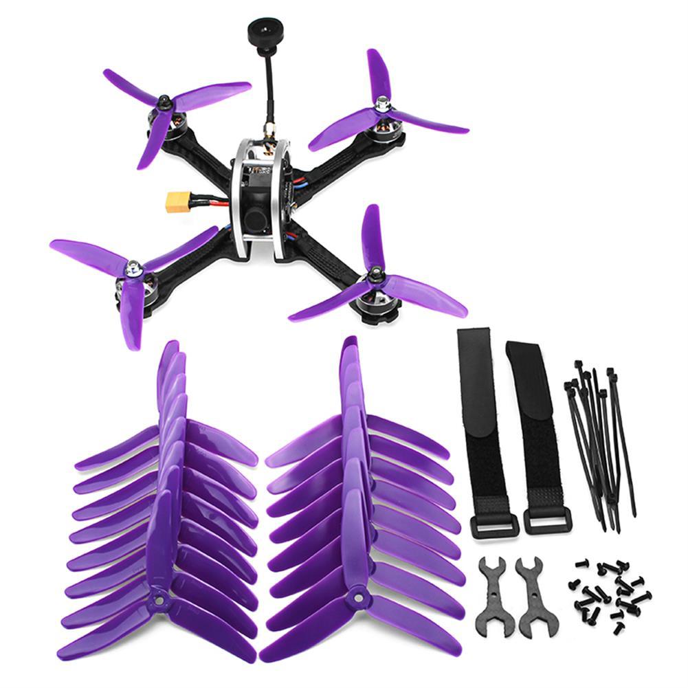 fpv-racing-drones Realacc Real5 215MM FPV Racing Drone PNP Omnibus F4 30A Blheli_S ESC 25/200/600mW VTX 800TVL Camera RC1279364 9