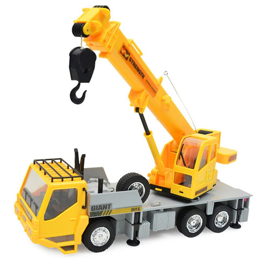 rc-cars 3822 1/24 2.4G 8CH RC Car Construction Crane Vehicles With Light Sound Toys RC1279967 1