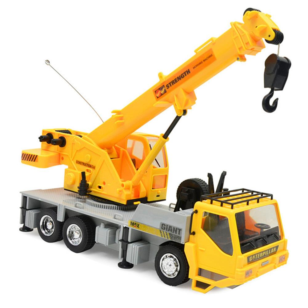 rc-cars 3822 1/24 2.4G 8CH RC Car Construction Crane Vehicles With Light Sound Toys RC1279967 2