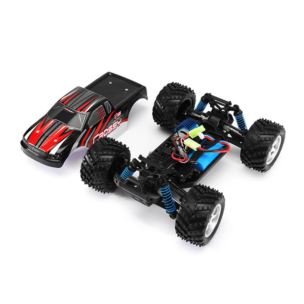 rc-cars Volantexrc 785-1 1/18 2.4G 4WD Crossy Brushed Racing RC Car 35KPH High Speed Monster Truck RTR Toys RC1283448 2