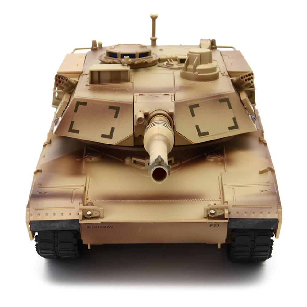 rc-tank ToogLi 1/24 27MHZ 40CM US M1A2 RC Car Tank With Light Sound Military Vehicle Model Toys RC1284914 2