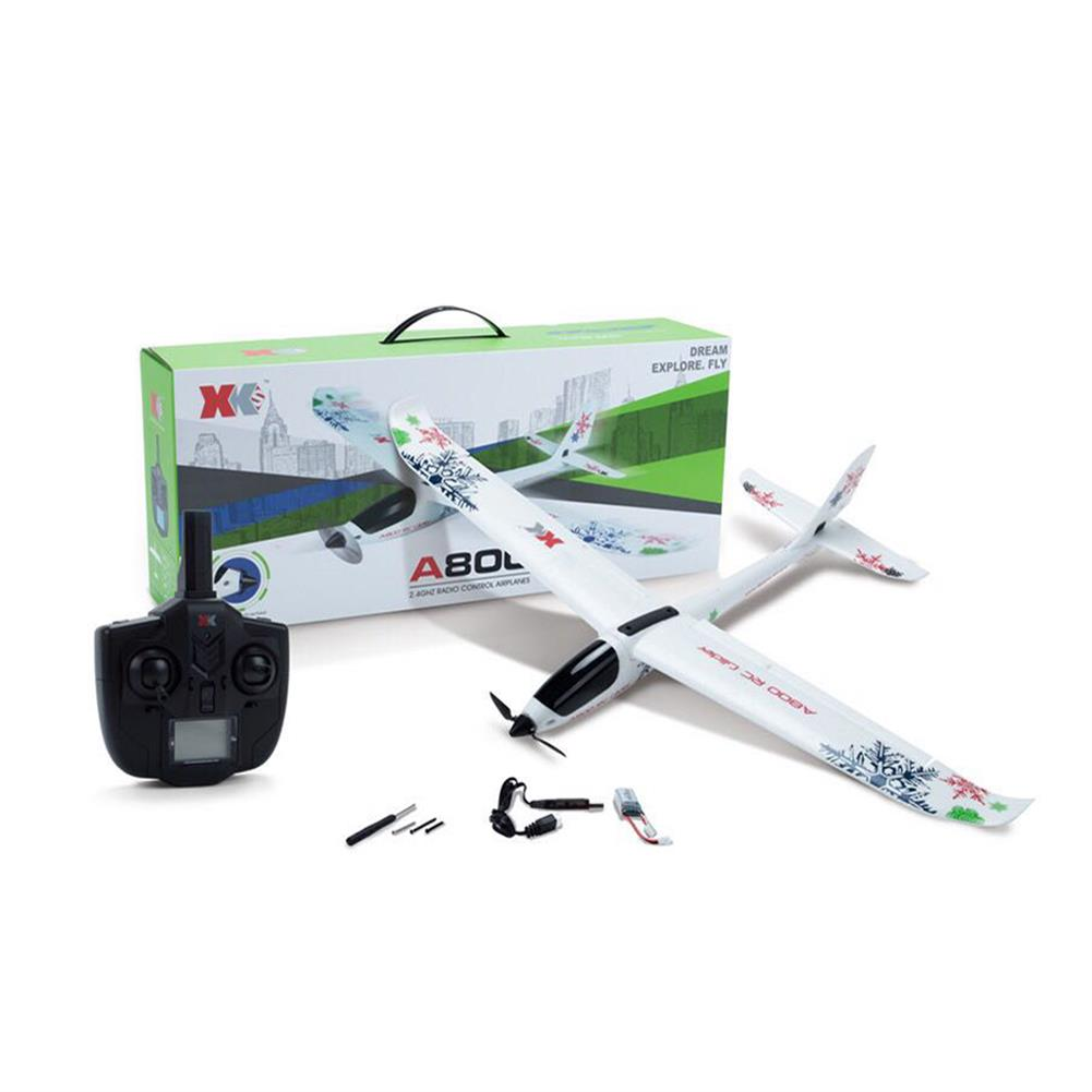 rc-airplanes XK A800 4CH 780mm 3D6G System RC Glider Airplane Compatible Futaba RTF RC1286778 9