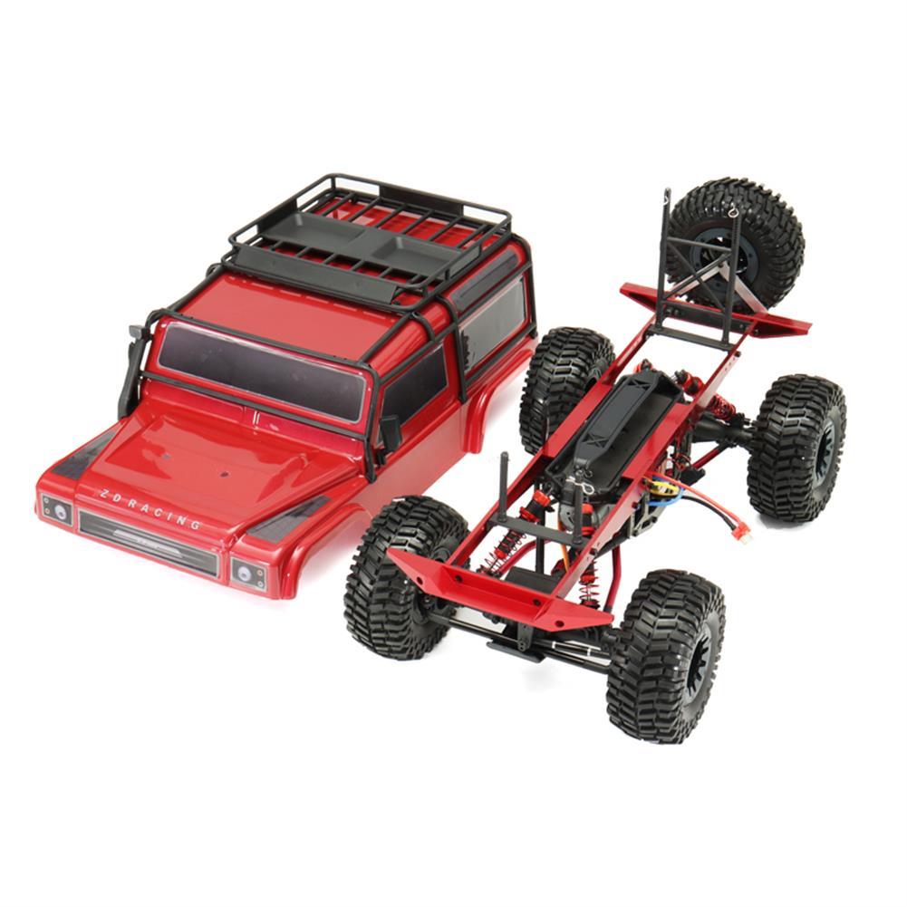 rc-cars ZD 084221/8 2.4G 4CH 4WD Long Distance 200m Rc Car Crawler Truck RC1287192 4