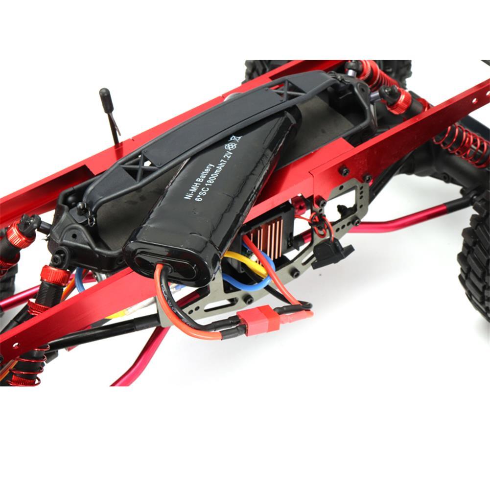 rc-cars ZD 084221/8 2.4G 4CH 4WD Long Distance 200m Rc Car Crawler Truck RC1287192 6