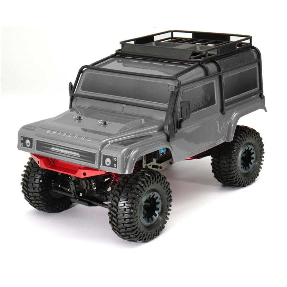 rc-cars ZD 08422 1/8 2.4G 4CH 4WD Long Distance 200m Rc Car Crawler Truck Titanium Color RC1287262