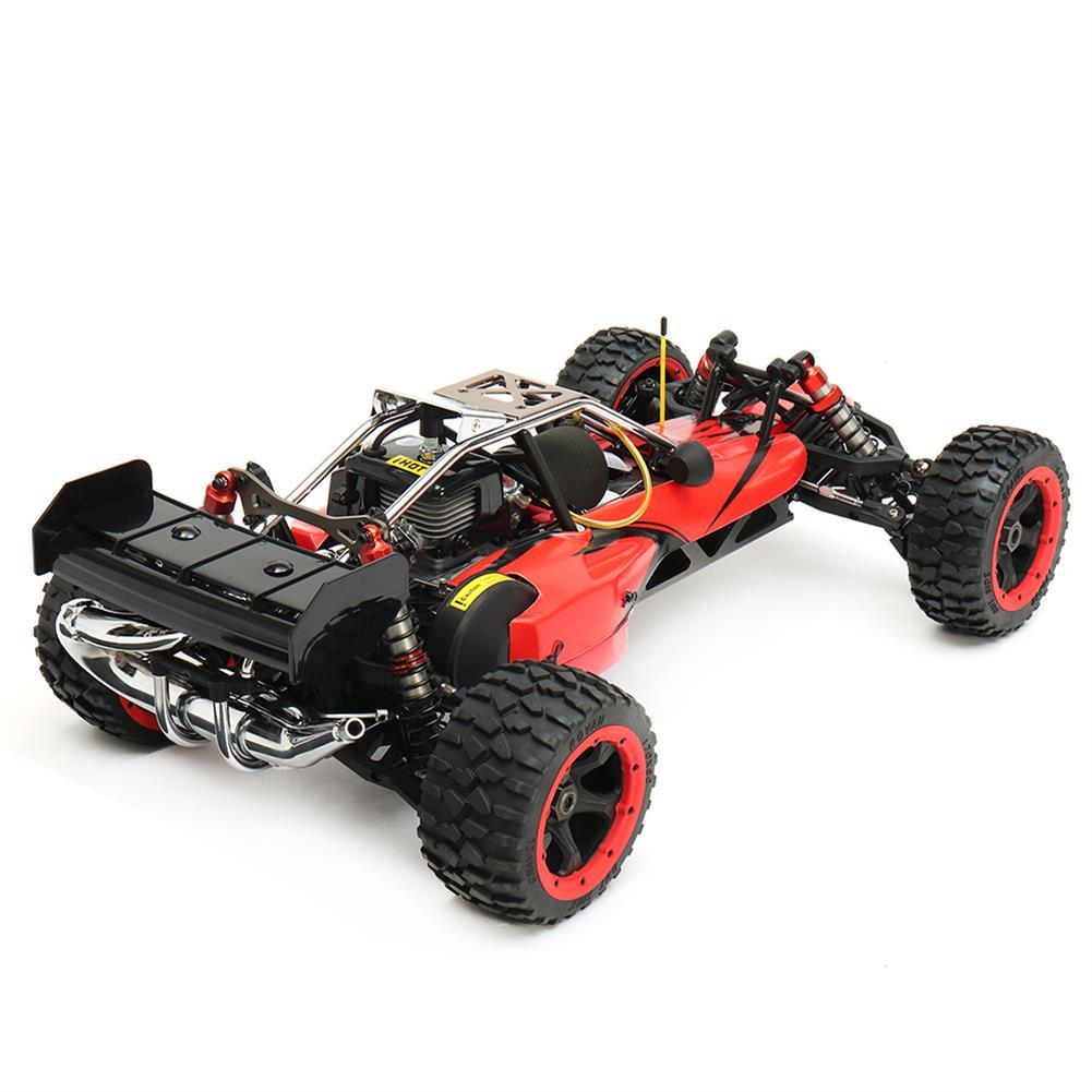 rc-cars Rovan Baja 305 Rc Car 1/5 RWD 30.5cc Gas 2 Stroke Engine Symmetrical Steering RTR Buggy No Battery RC1305439 1