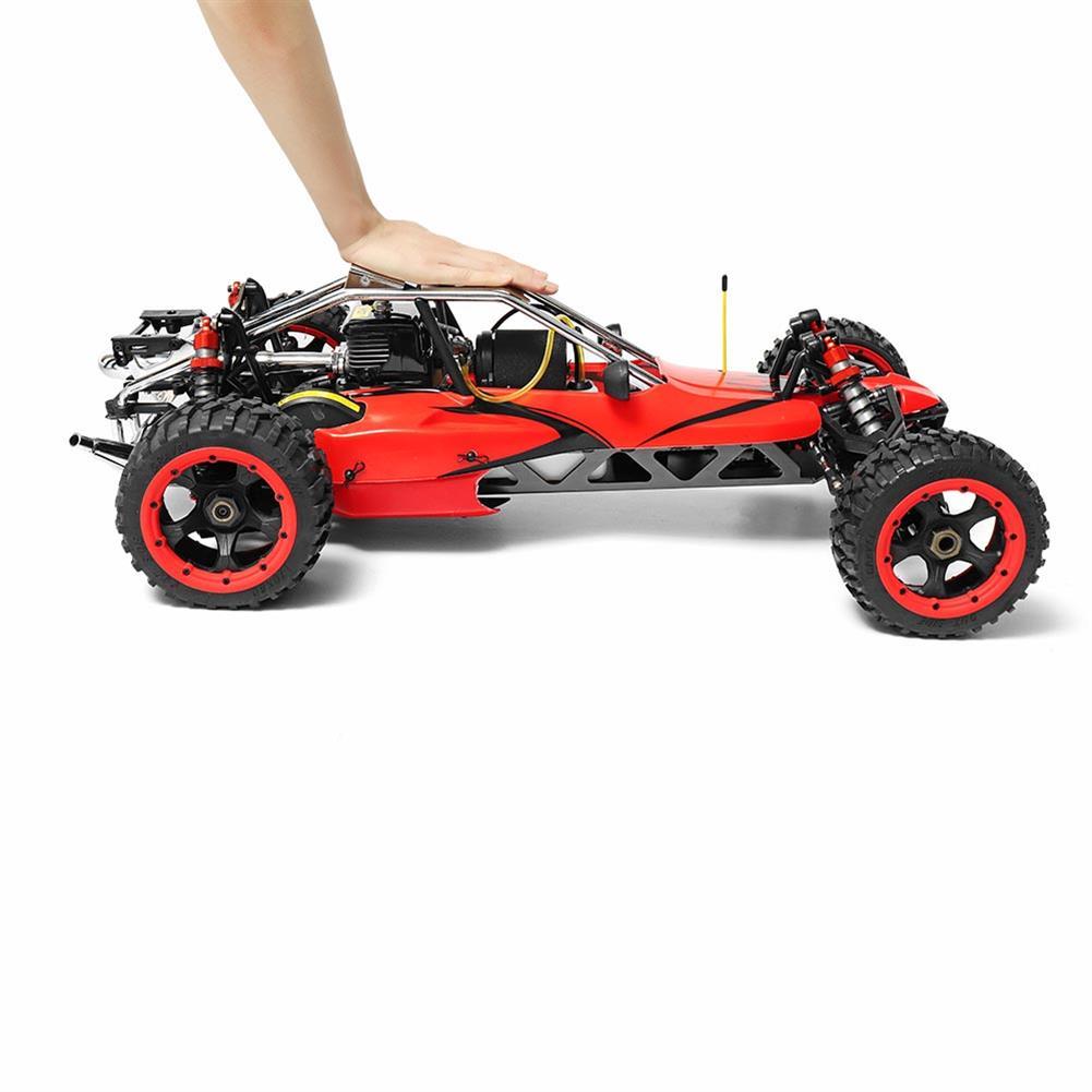 rc-cars Rovan Baja 305 Rc Car 1/5 RWD 30.5cc Gas 2 Stroke Engine Symmetrical Steering RTR Buggy No Battery RC1305439 2