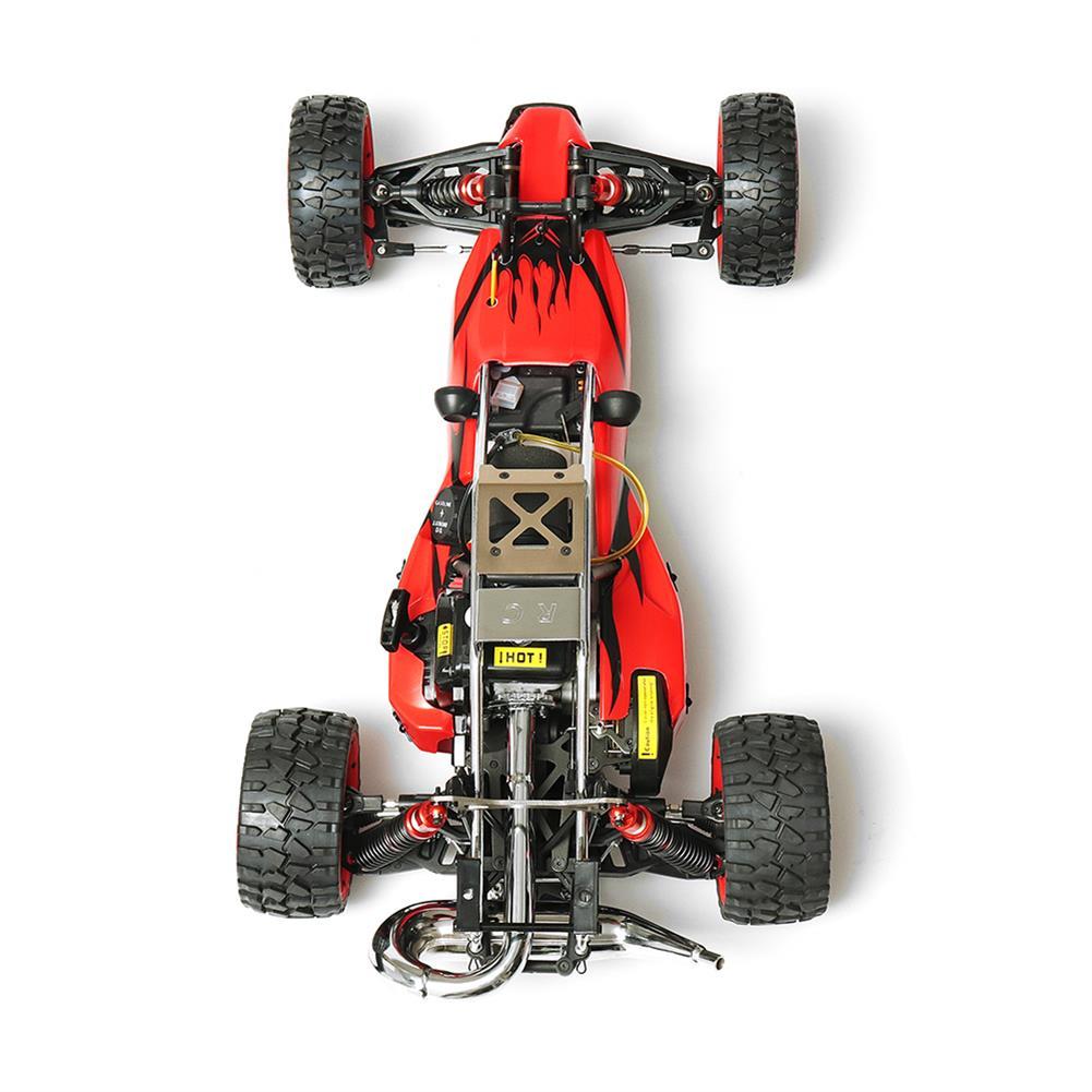 rc-cars Rovan Baja 305 Rc Car 1/5 RWD 30.5cc Gas 2 Stroke Engine Symmetrical Steering RTR Buggy No Battery RC1305439 5