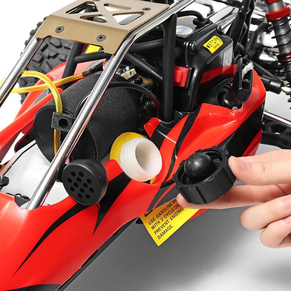 rc-cars Rovan Baja 305 Rc Car 1/5 RWD 30.5cc Gas 2 Stroke Engine Symmetrical Steering RTR Buggy No Battery RC1305439 7