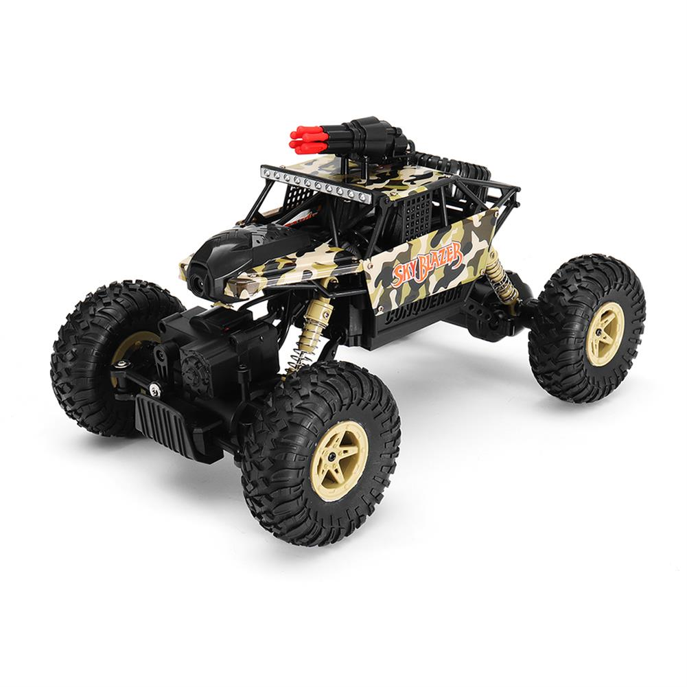 rc-cars Wltoys 18428-A 1/18 2.4G 4WD Missile Rc Car With 0.3MP WIFI FPV Off-road Rock Crawler RTR Toy RC1310606