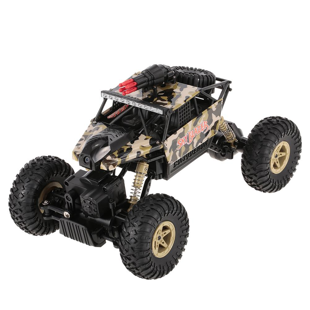 rc-cars Wltoys 18428-A 1/18 2.4G 4WD Missile Rc Car With 0.3MP WIFI FPV Off-road Rock Crawler RTR Toy RC1310606 1