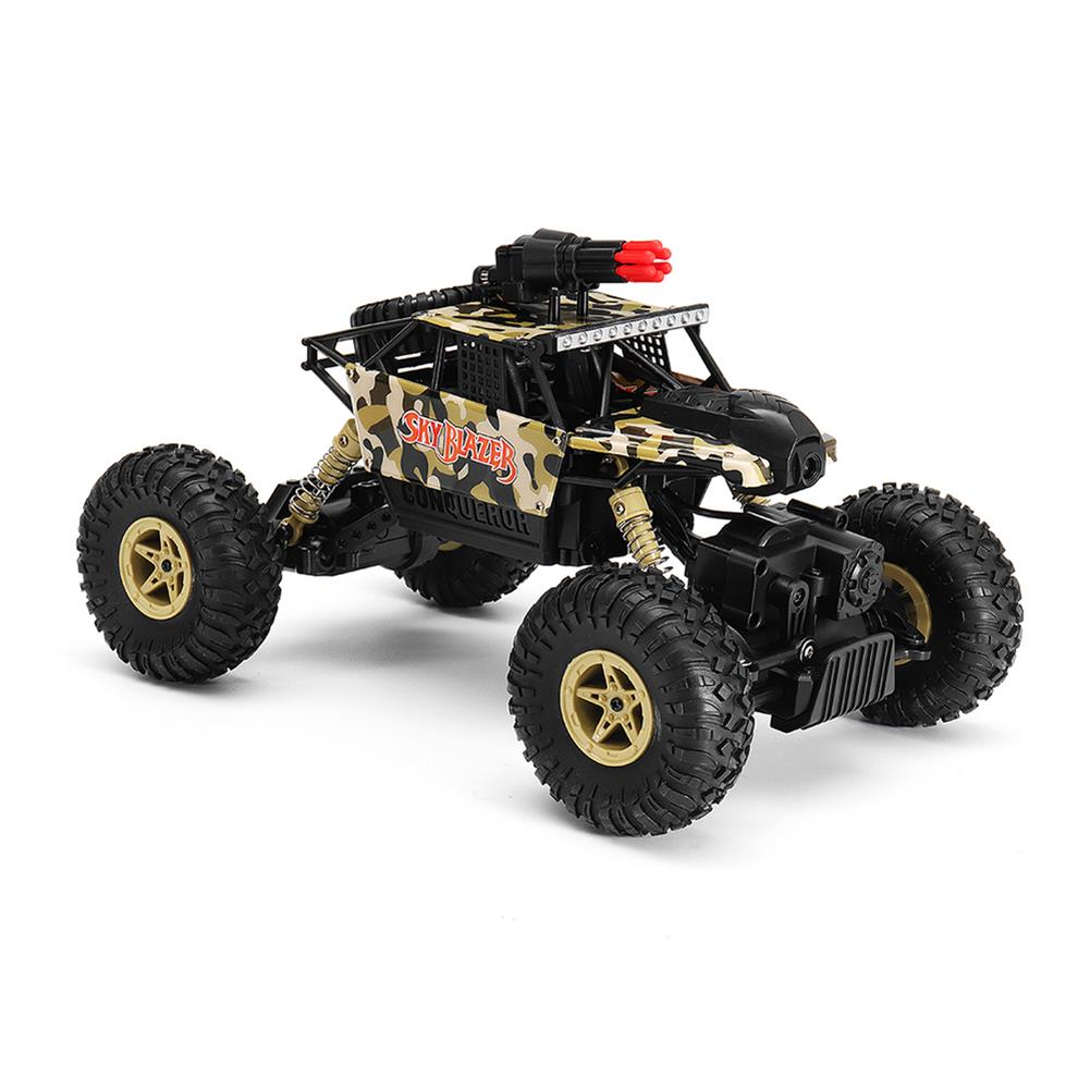 rc-cars Wltoys 18428-A 1/18 2.4G 4WD Missile Rc Car With 0.3MP WIFI FPV Off-road Rock Crawler RTR Toy RC1310606 2
