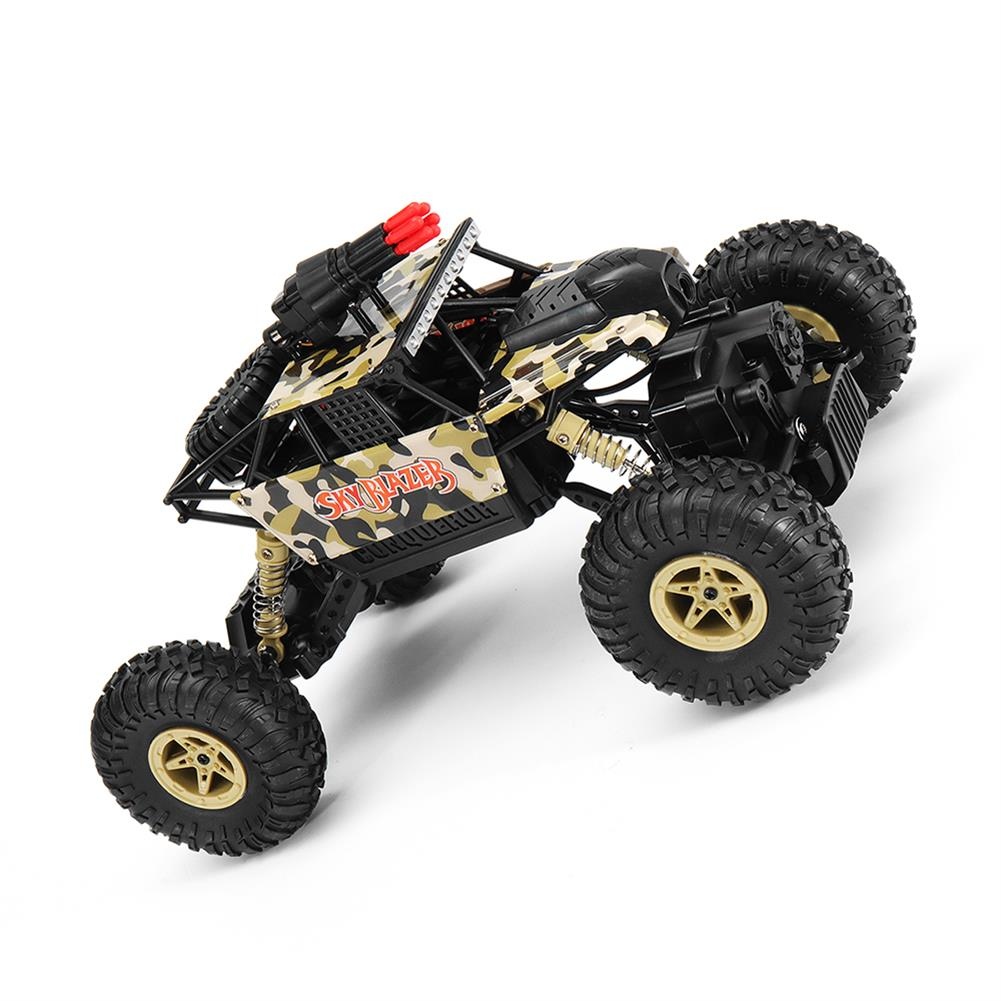 rc-cars Wltoys 18428-A 1/18 2.4G 4WD Missile Rc Car With 0.3MP WIFI FPV Off-road Rock Crawler RTR Toy RC1310606 3