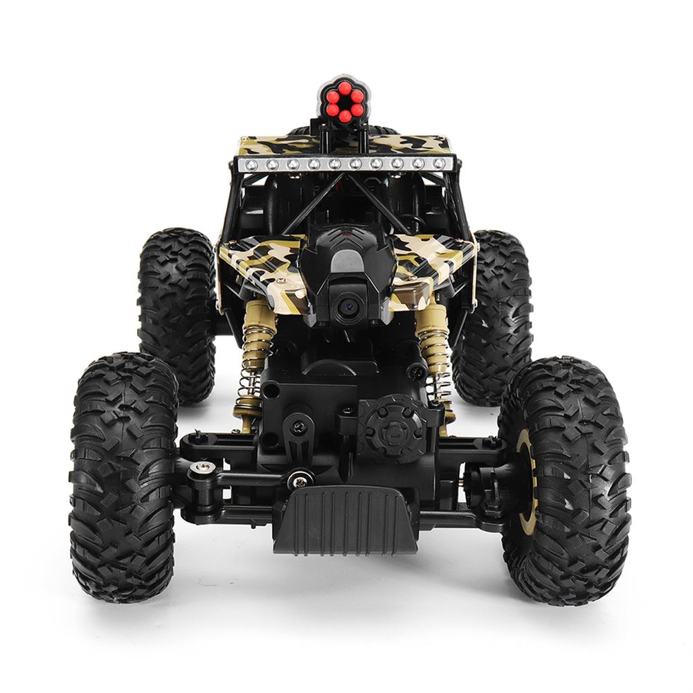 rc-cars Wltoys 18428-A 1/18 2.4G 4WD Missile Rc Car With 0.3MP WIFI FPV Off-road Rock Crawler RTR Toy RC1310606 4