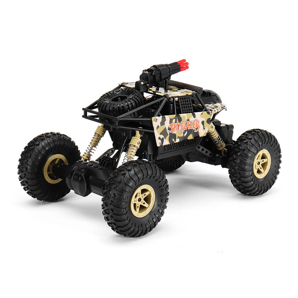 rc-cars Wltoys 18428-A 1/18 2.4G 4WD Missile Rc Car With 0.3MP WIFI FPV Off-road Rock Crawler RTR Toy RC1310606 5