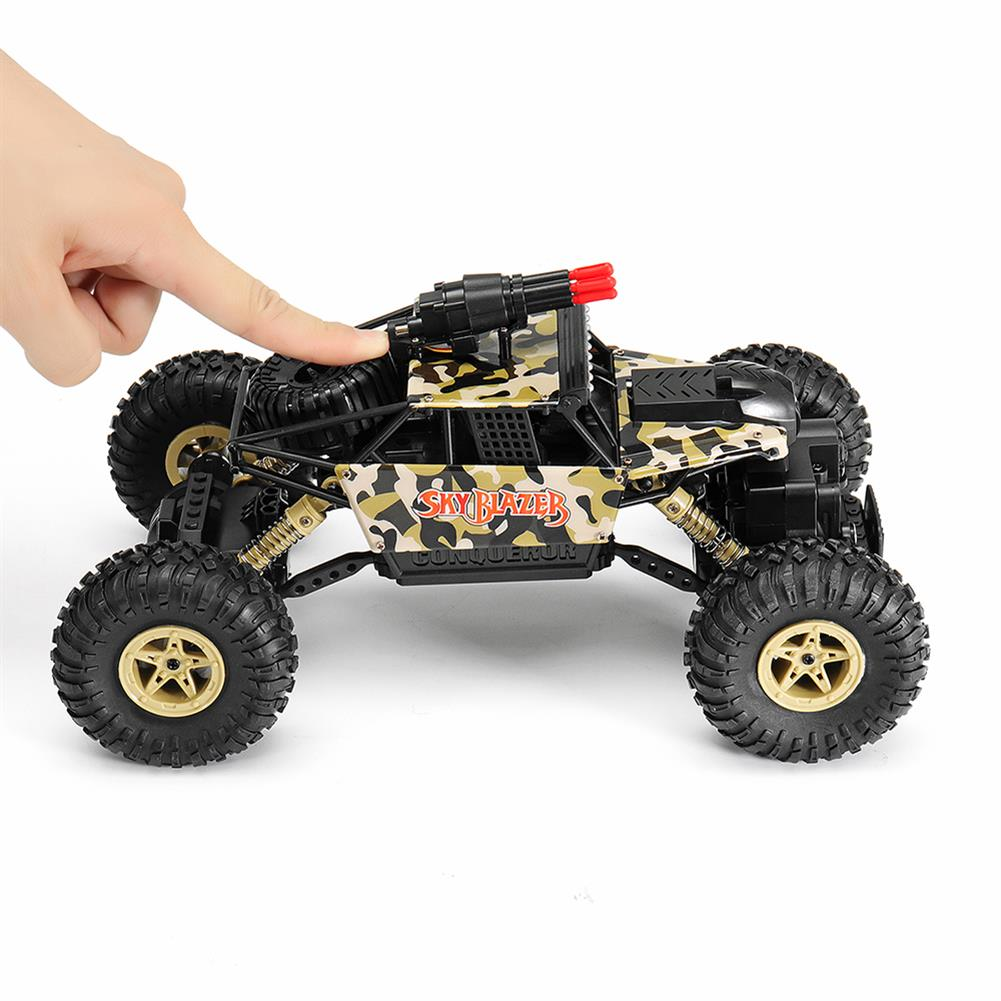 rc-cars Wltoys 18428-A 1/18 2.4G 4WD Missile Rc Car With 0.3MP WIFI FPV Off-road Rock Crawler RTR Toy RC1310606 6