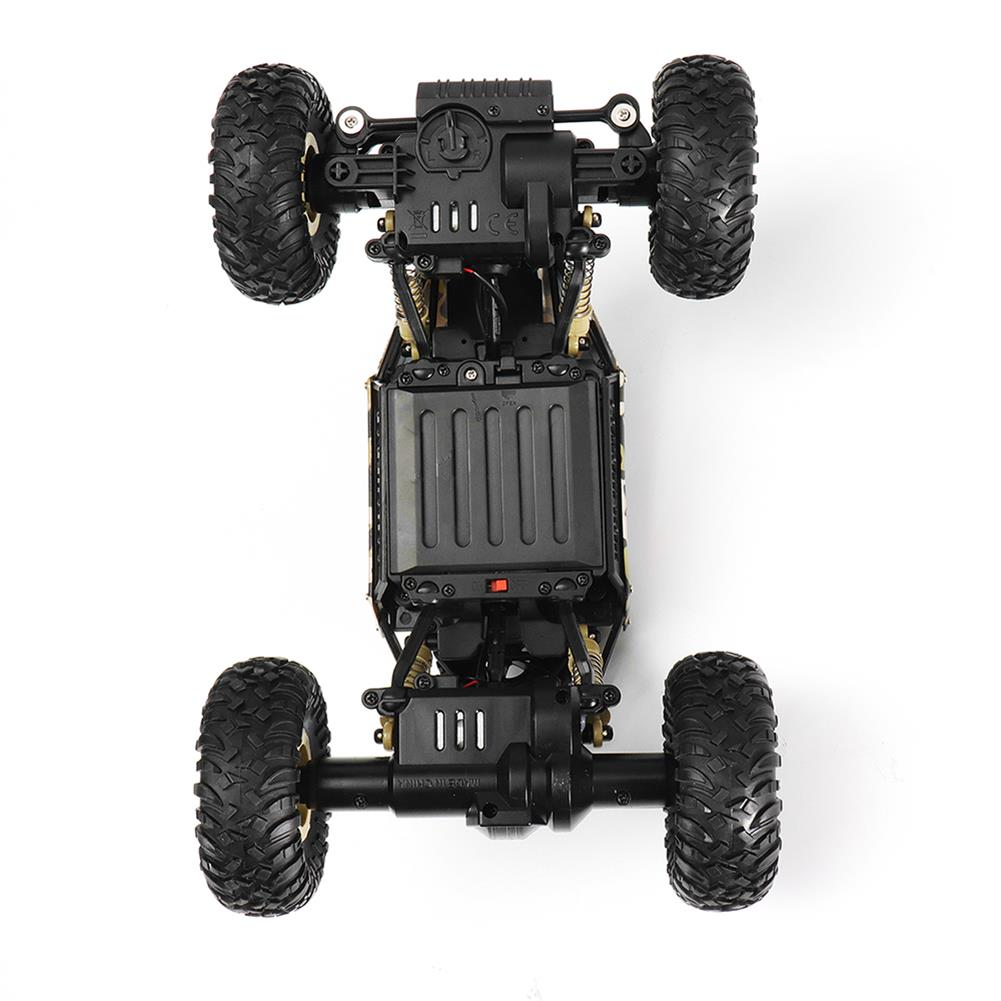 rc-cars Wltoys 18428-A 1/18 2.4G 4WD Missile Rc Car With 0.3MP WIFI FPV Off-road Rock Crawler RTR Toy RC1310606 7