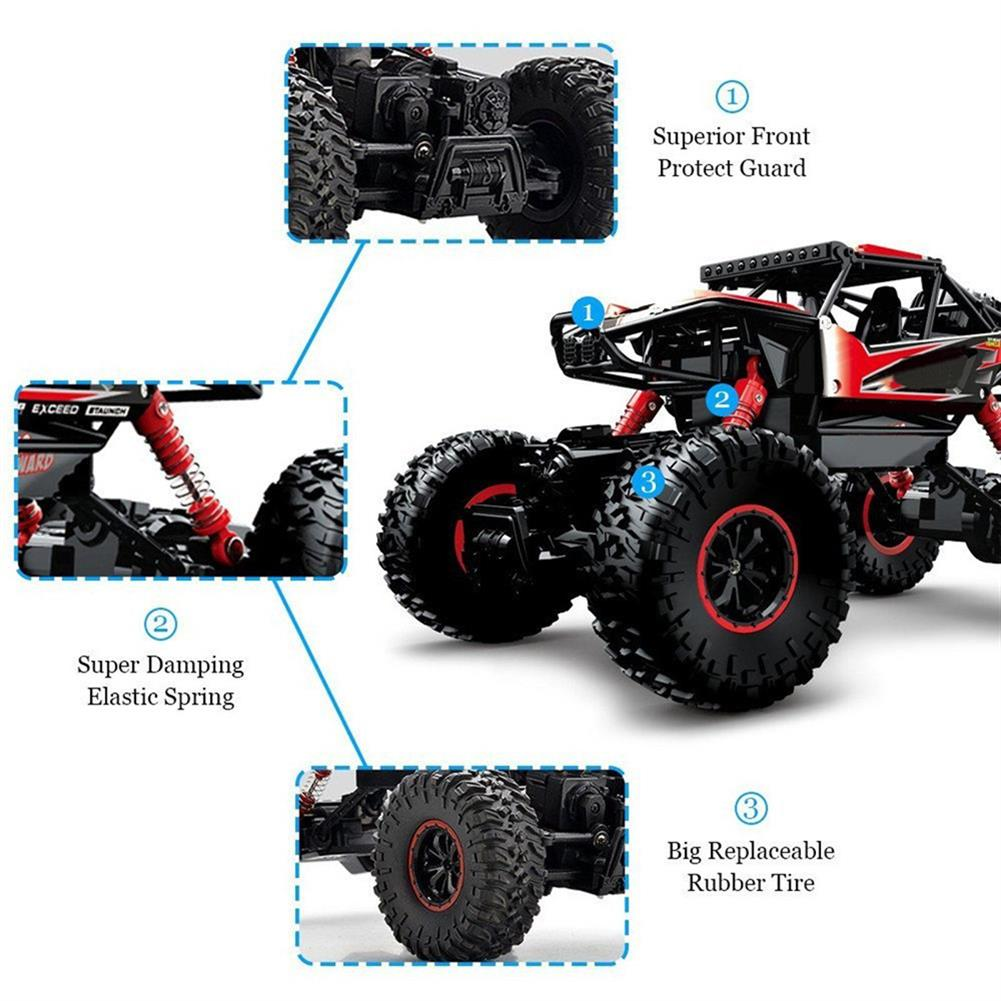 rc-cars SX TOYS 3533A 1/16 2.4G 4WD Rc Car Electric Off-Road Racing Monster Truck Vehicle With Double Motor RC1312566 7