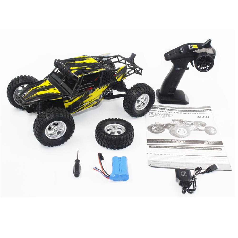 rc-cars HBX 12895 1/12 2.4G 4WD Two Speed Off-Road Racing RC Car RC1319008 4