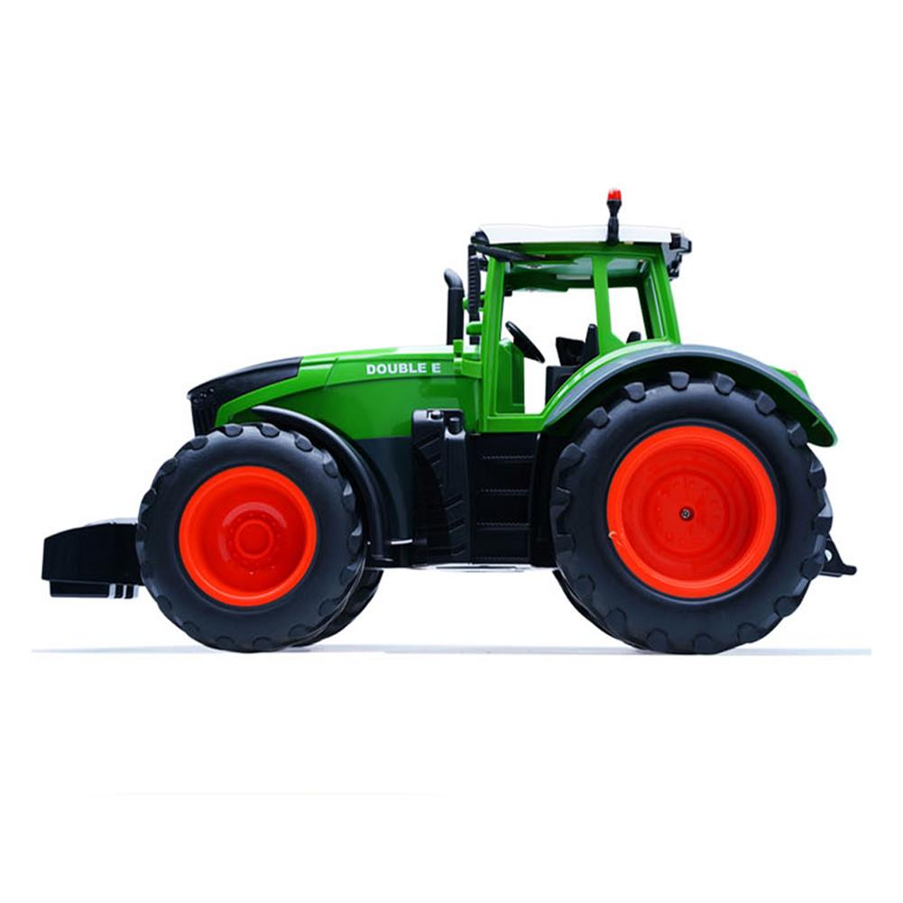 rc-cars Double E E351-001 RC Car Truck Farm Tractor 2.4G Trailer Dump Rake 4 Wheel Engineer Vehicle Toys RC1320813 1