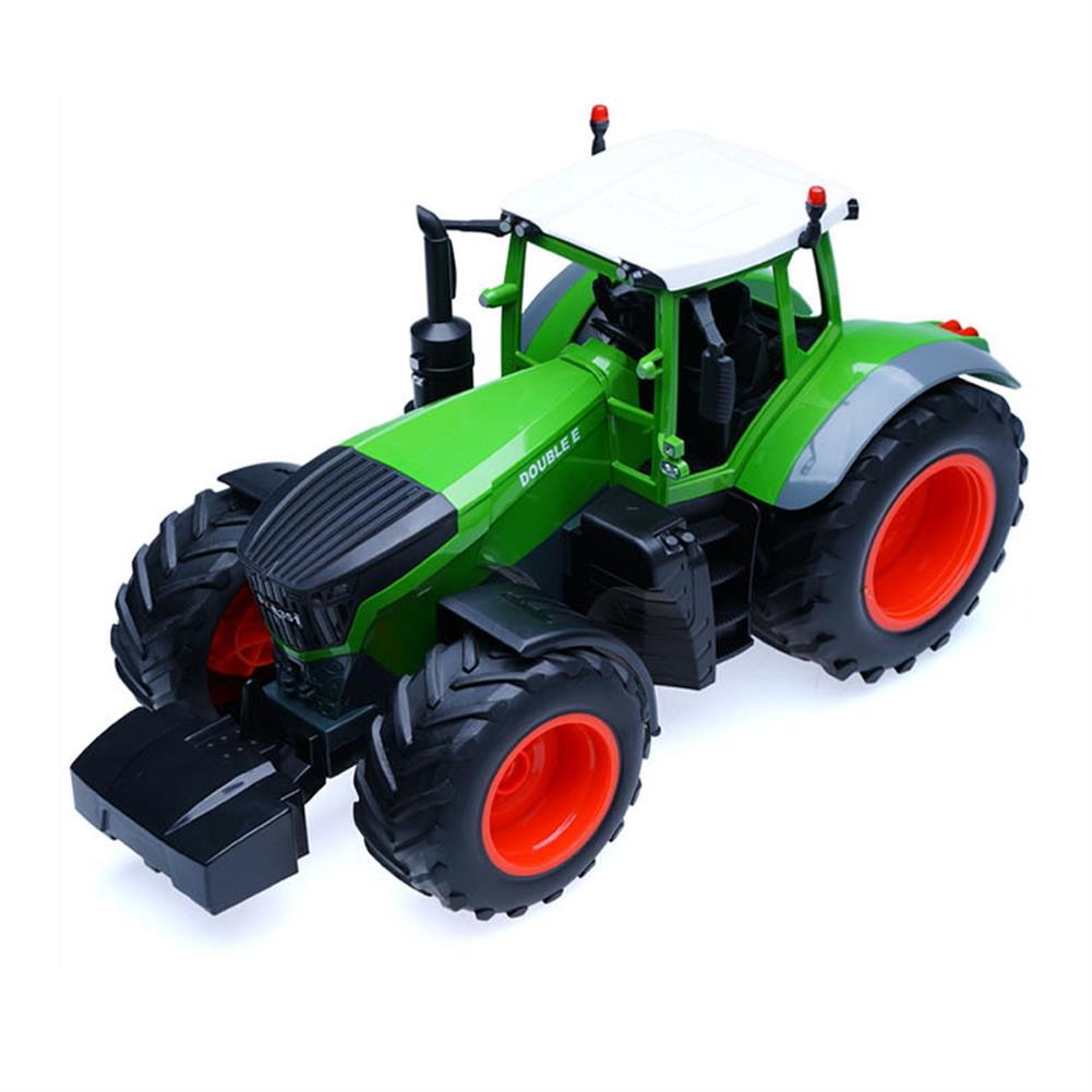rc-cars Double E E351-001 RC Car Truck Farm Tractor 2.4G Trailer Dump Rake 4 Wheel Engineer Vehicle Toys RC1320813 2