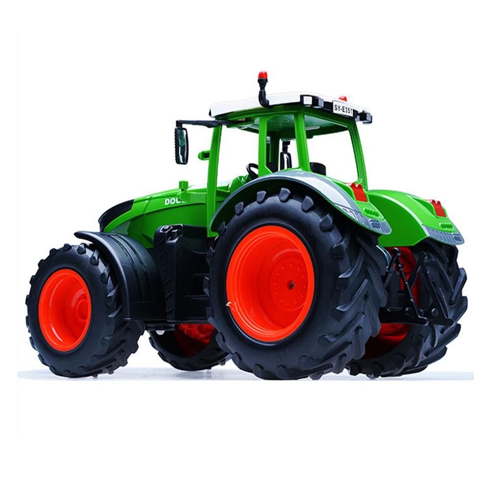 rc-cars Double E E351-001 RC Car Truck Farm Tractor 2.4G Trailer Dump Rake 4 Wheel Engineer Vehicle Toys RC1320813 3