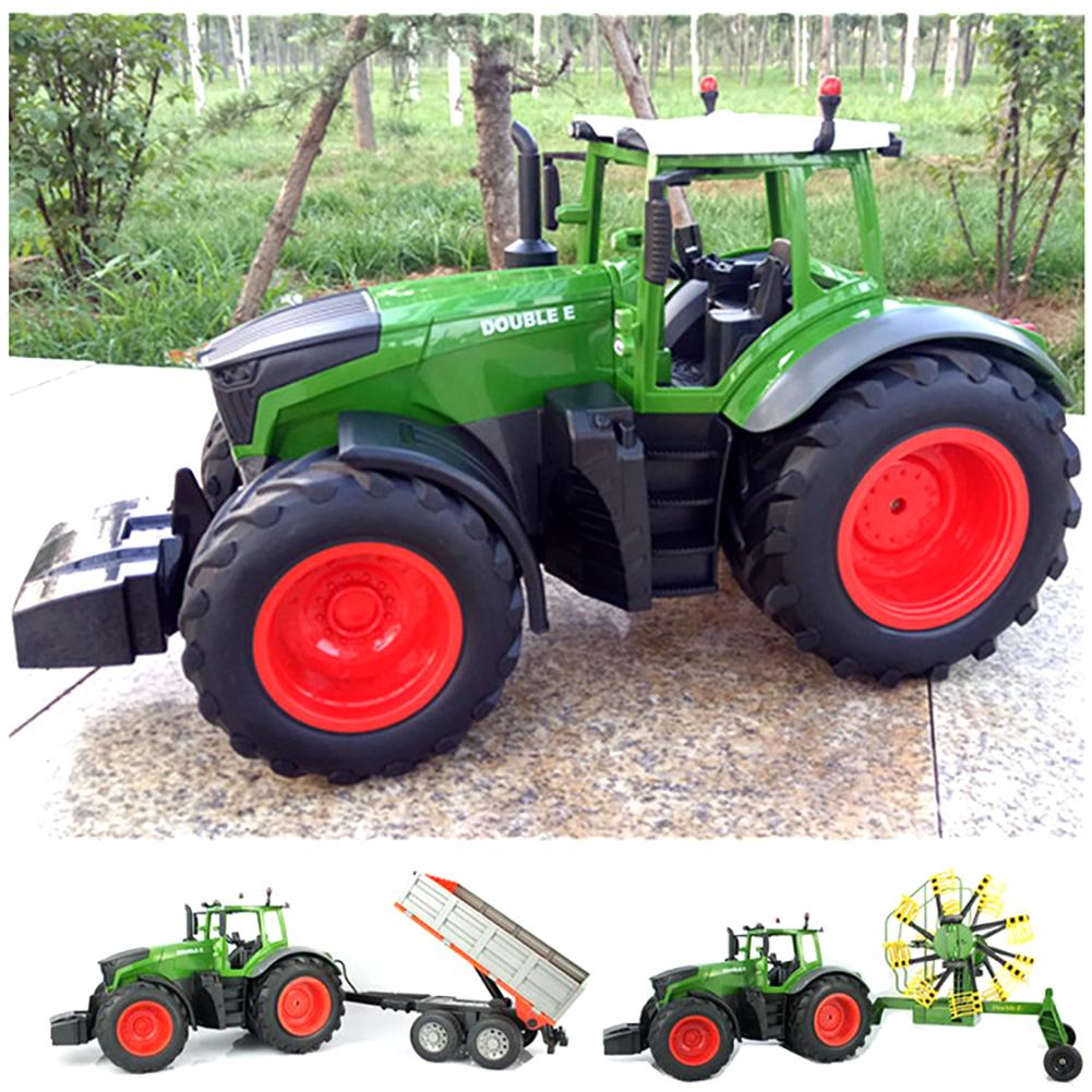 rc-cars Double E E351-001 RC Car Truck Farm Tractor 2.4G Trailer Dump Rake 4 Wheel Engineer Vehicle Toys RC1320813 5