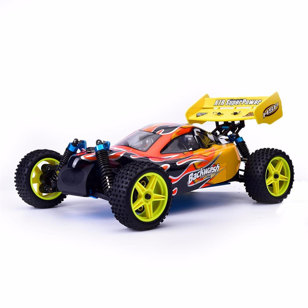 rc-cars HSP Baja 94166 1/10 2.4G 4WD 400mm Rc Car Backwash Buggy Off-road Truck With 18cxp Engine RTR Toy RC1321406