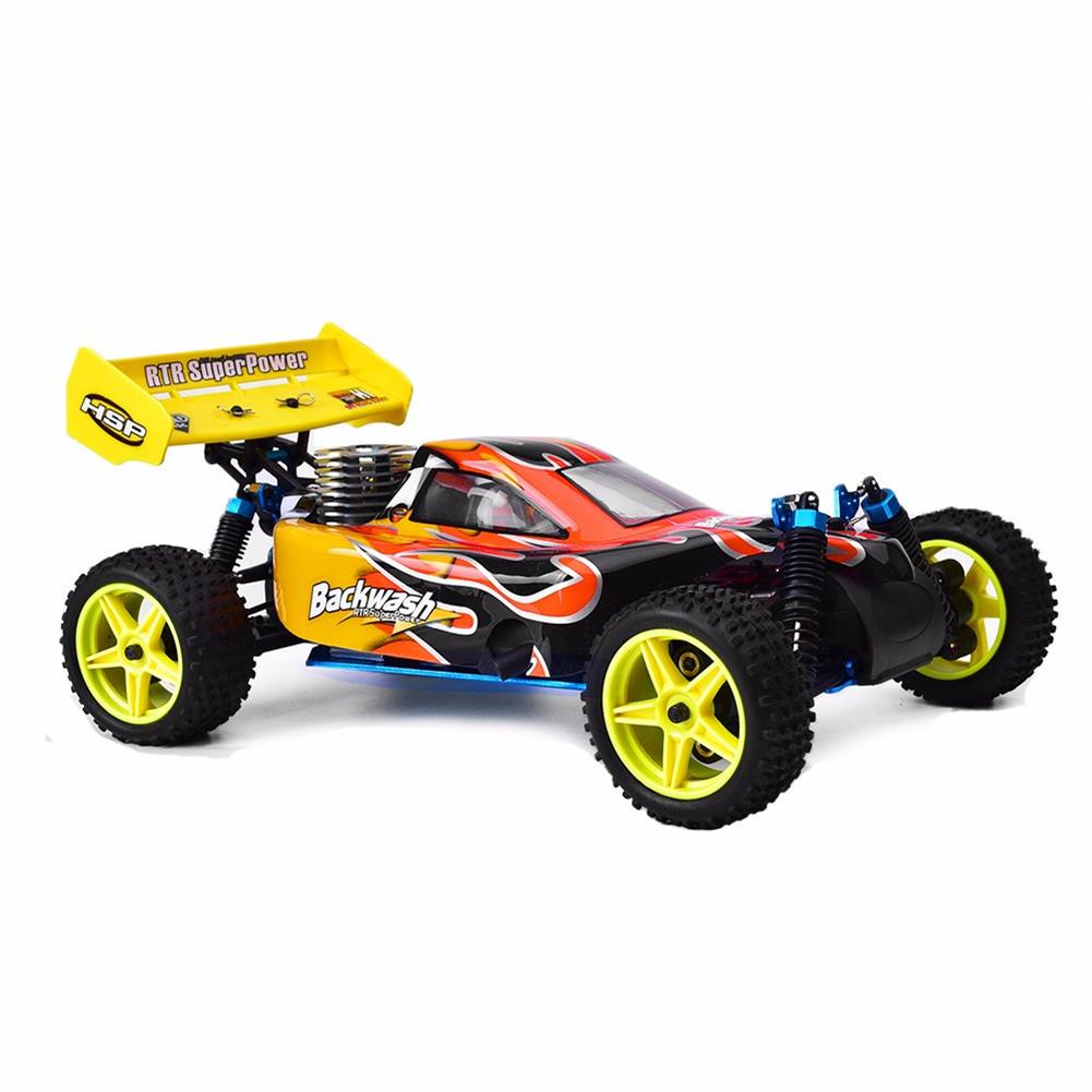 rc-cars HSP Baja 94166 1/10 2.4G 4WD 400mm Rc Car Backwash Buggy Off-road Truck With 18cxp Engine RTR Toy RC1321406 1