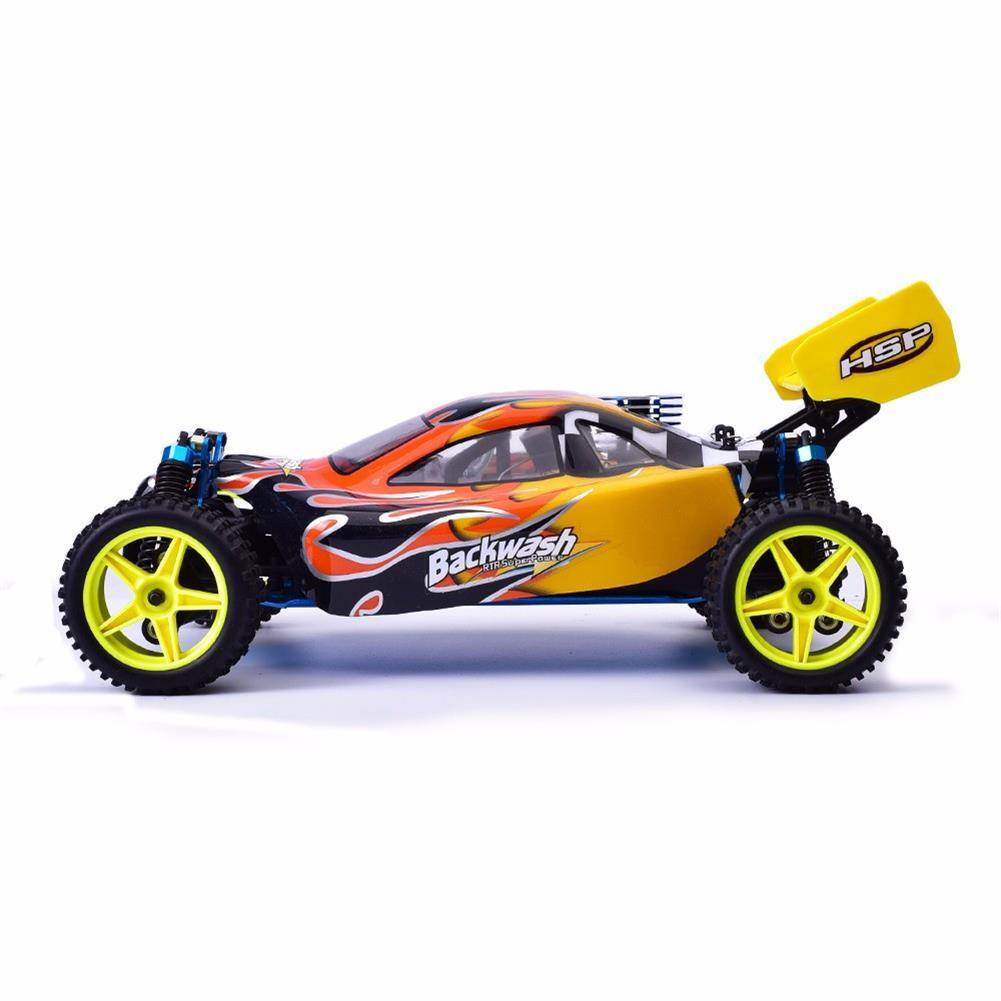 rc-cars HSP Baja 94166 1/10 2.4G 4WD 400mm Rc Car Backwash Buggy Off-road Truck With 18cxp Engine RTR Toy RC1321406 2