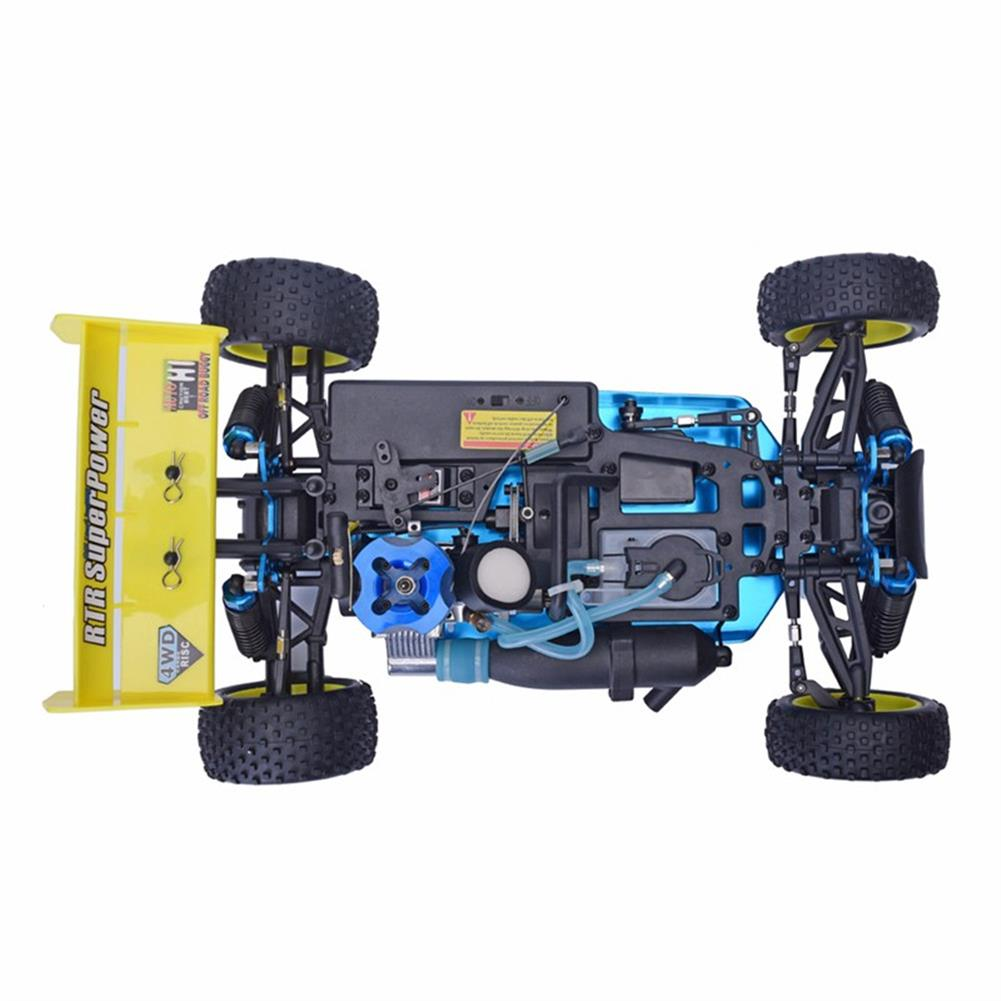 rc-cars HSP Baja 94166 1/10 2.4G 4WD 400mm Rc Car Backwash Buggy Off-road Truck With 18cxp Engine RTR Toy RC1321406 4