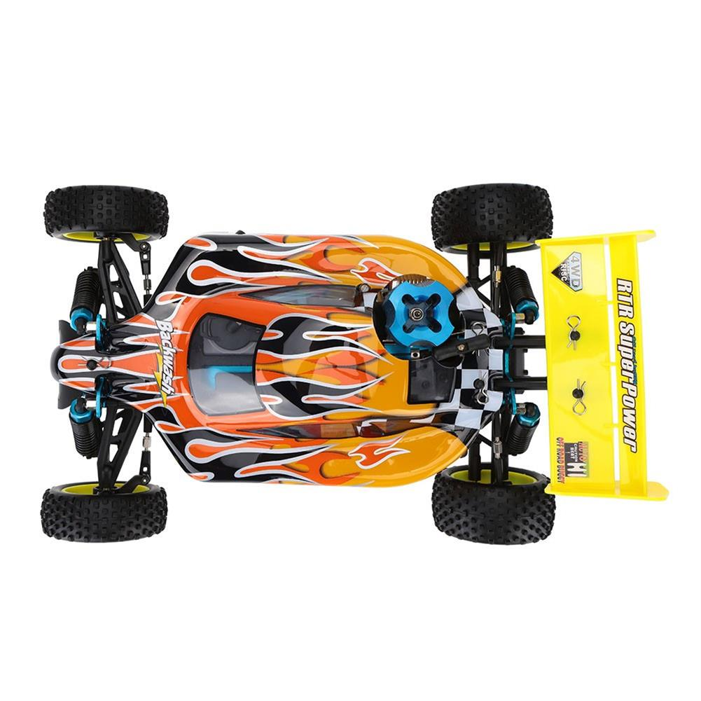 rc-cars HSP Baja 94166 1/10 2.4G 4WD 400mm Rc Car Backwash Buggy Off-road Truck With 18cxp Engine RTR Toy RC1321406 6