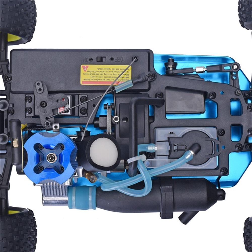 rc-cars HSP Baja 94166 1/10 2.4G 4WD 400mm Rc Car Backwash Buggy Off-road Truck With 18cxp Engine RTR Toy RC1321406 9