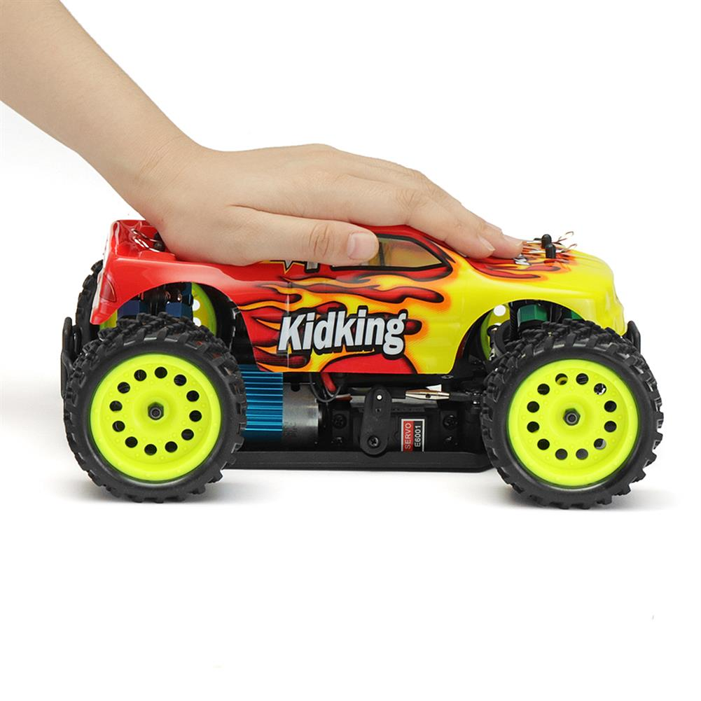 rc-cars HSP 94186 1/16 2.4G 4WD Electric Power Rc Car Kidking Rc380 Motor Off-road Monster Truck RTR Toy RC1322529 5