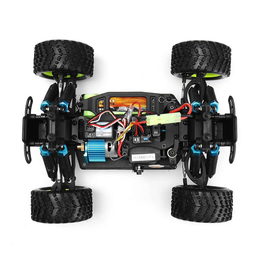 rc-cars HSP 94186 1/16 2.4G 4WD Electric Power Rc Car Kidking Rc380 Motor Off-road Monster Truck RTR Toy RC1322529 7