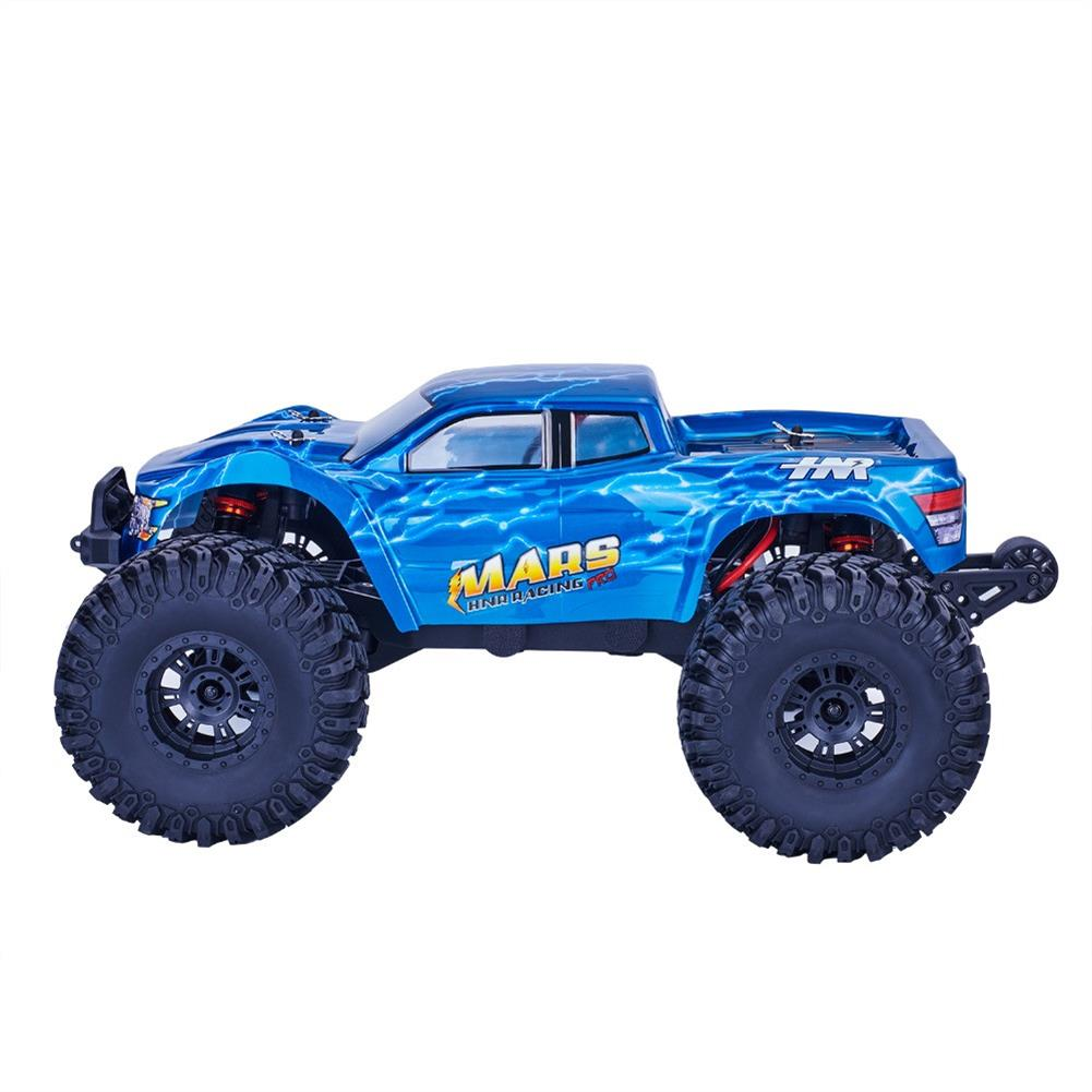 rc-cars HNR MARS Pro H9801 1/10 2.4G 4WD Rc Car 80A ESC Brushless Motor Off Road Monster Truck RTR Toy RC1323208 1
