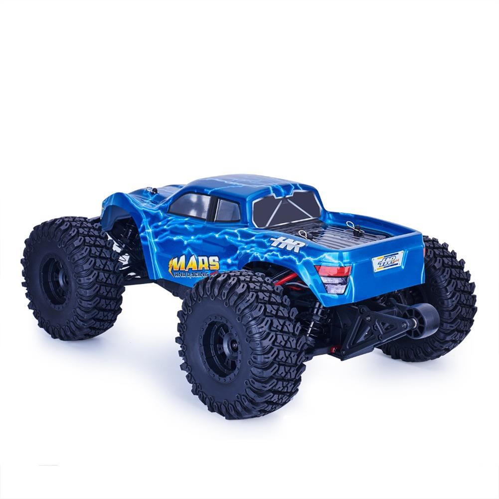 rc-cars HNR MARS Pro H9801 1/10 2.4G 4WD Rc Car 80A ESC Brushless Motor Off Road Monster Truck RTR Toy RC1323208 2