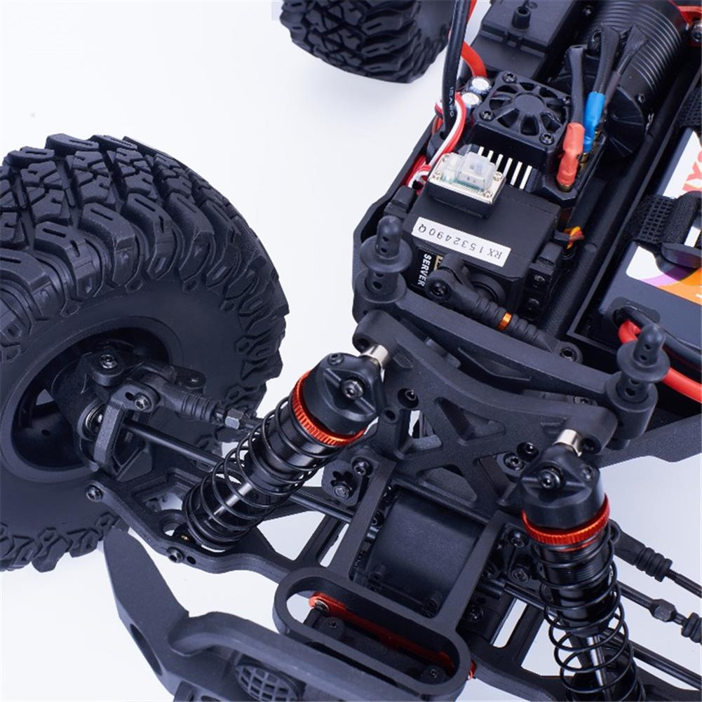rc-cars HNR MARS Pro H9801 1/10 2.4G 4WD Rc Car 80A ESC Brushless Motor Off Road Monster Truck RTR Toy RC1323208 7
