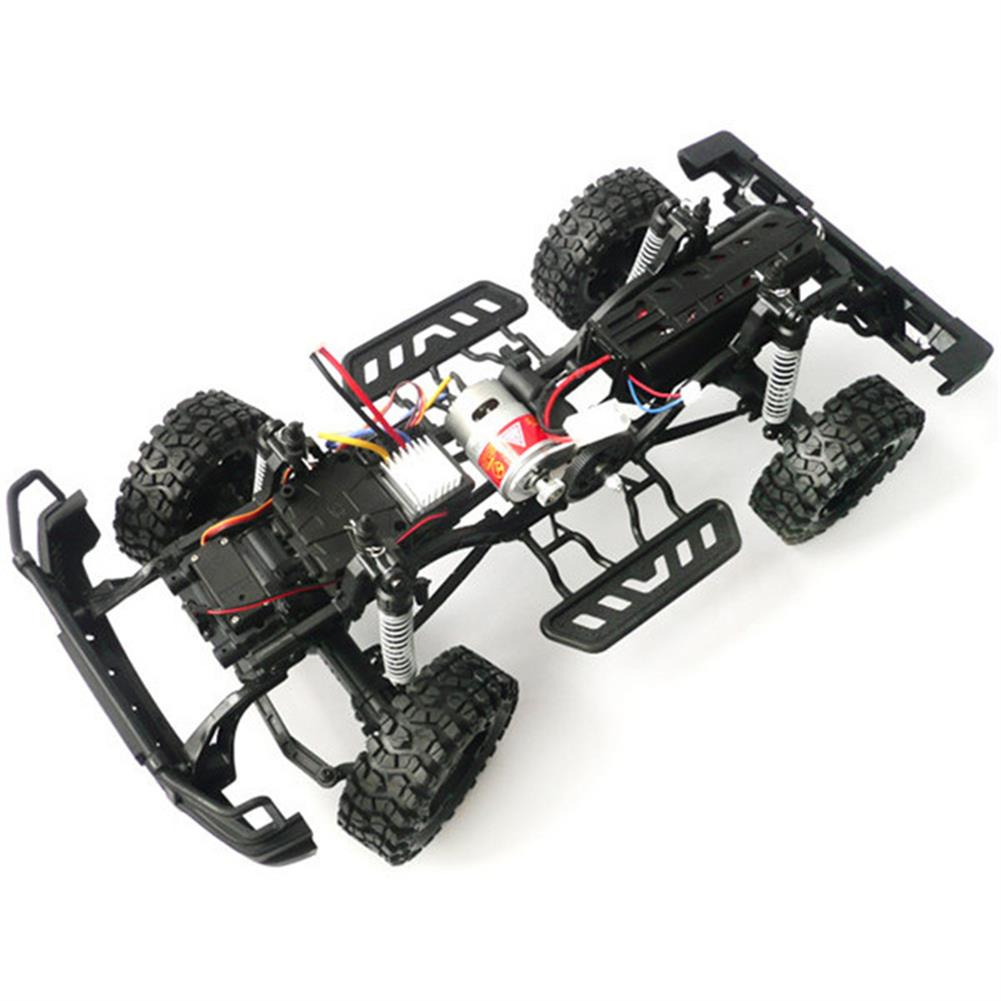 rc-cars HG P402 1/10 2.4G 4WD Wheel Drive Roadster Climbing RC Car Upgrade Metal Chassis RC1323655 1