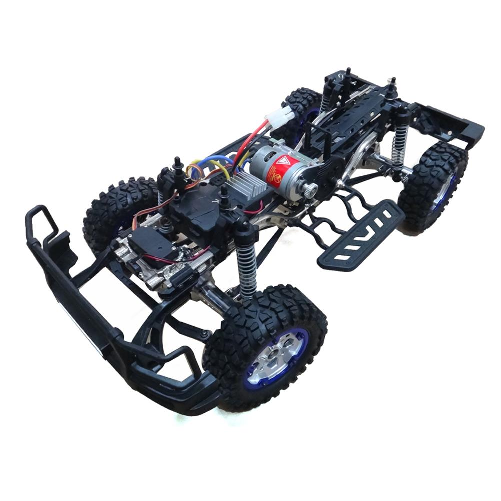 rc-cars HG P402 1/10 2.4G 4WD Wheel Drive Roadster Climbing RC Car Upgrade Metal Chassis RC1323655 2